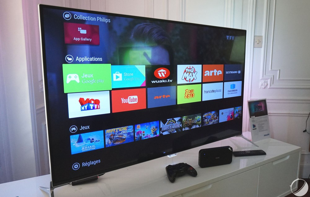 Phillips TV serie 7600 android tv