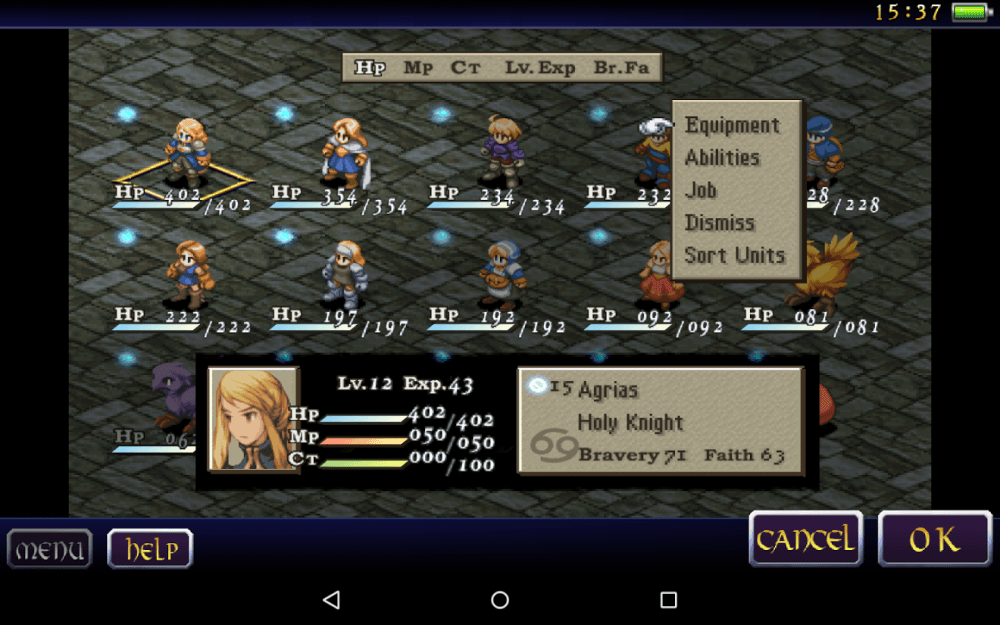 final fantasy tactics android 2