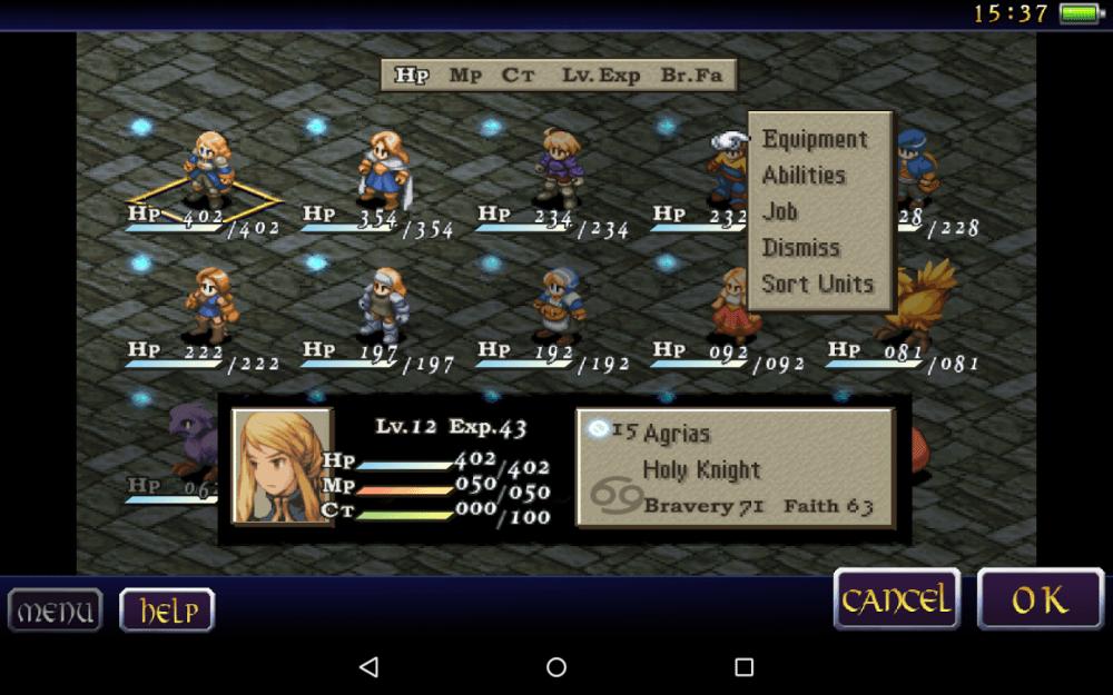 final fantasy tactics android 2