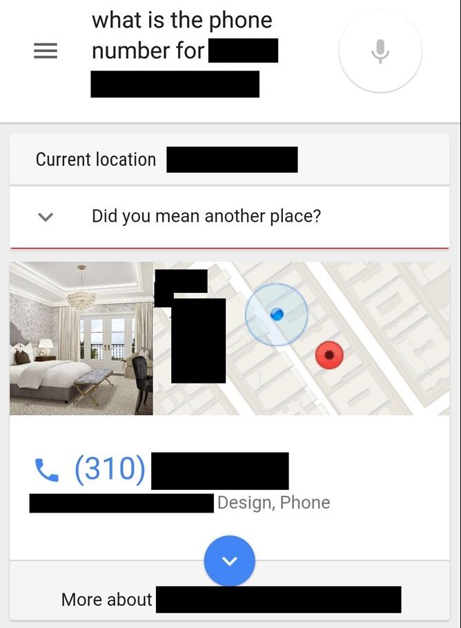 Google Location Aware Search