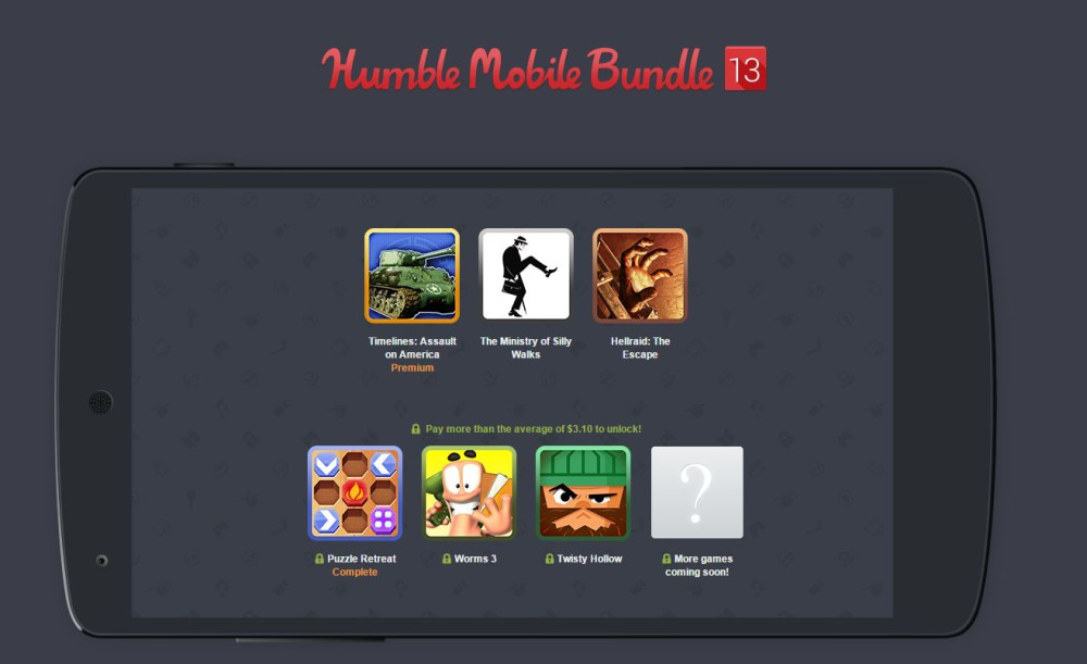 humble mobile bundle 13