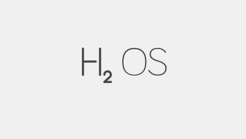 hydrogen os h2os logo