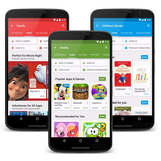 play store famille 1