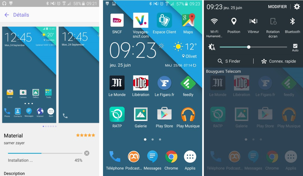 samsung galaxy s6 theme android stock 1
