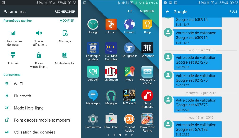 samsung galaxy s6 theme android stock 2