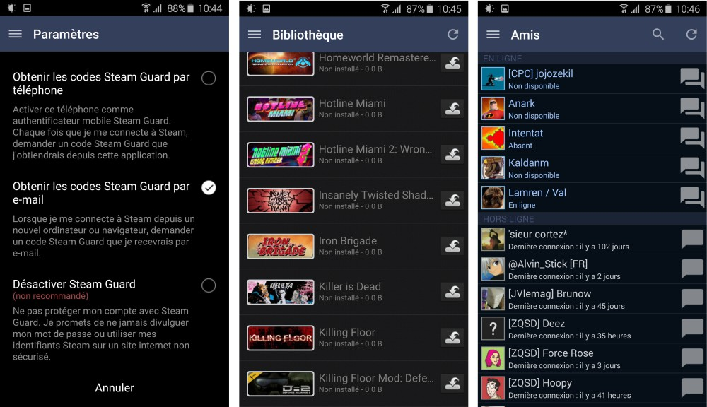 steam android interface 2
