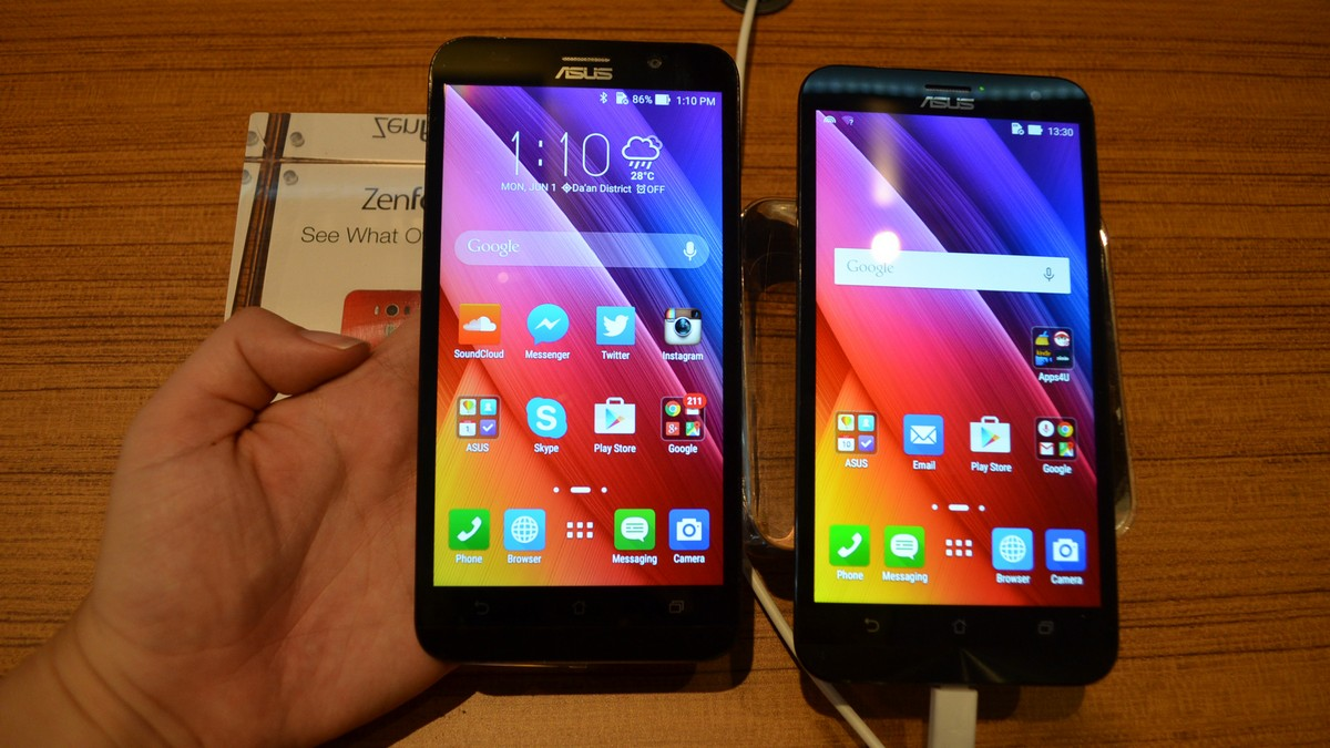 the 6 pouces laser zenfone asus 2 you back into the