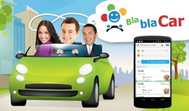 application mobile BlaBlaCar