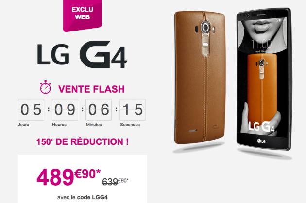 bon plan LG G4