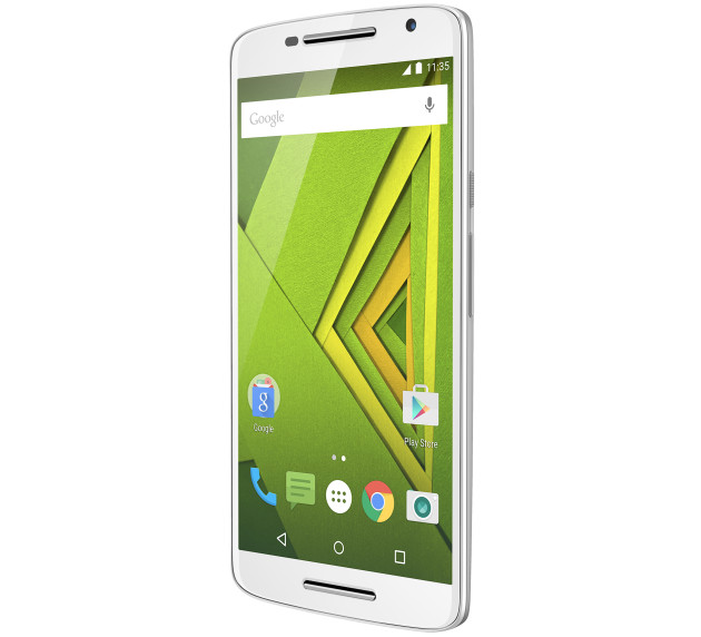 Motorola-Moto-X-Play-Blanc-Diagonal-Face