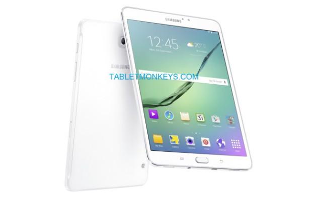 Galaxy Tab S2 8.0 en blanc