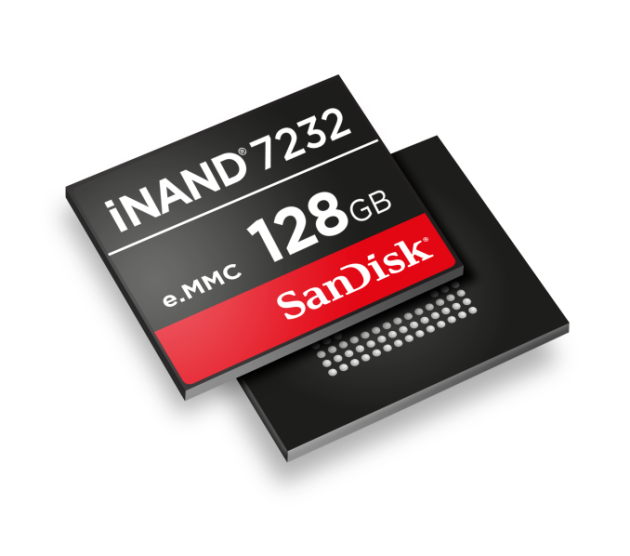 SanDisk iNAND 7232 Image_678x452