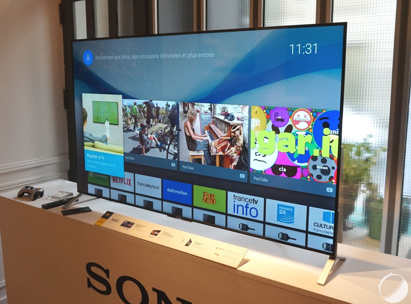a146cf36997 Sony présente ses premiers téléviseurs sous Android TV
