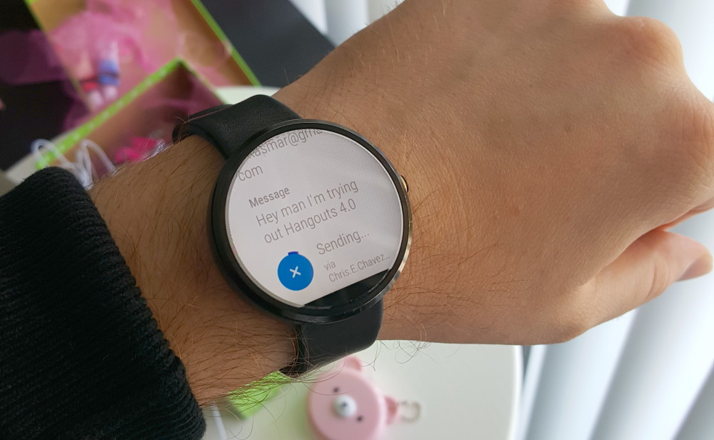 android wear hangouts 4-0