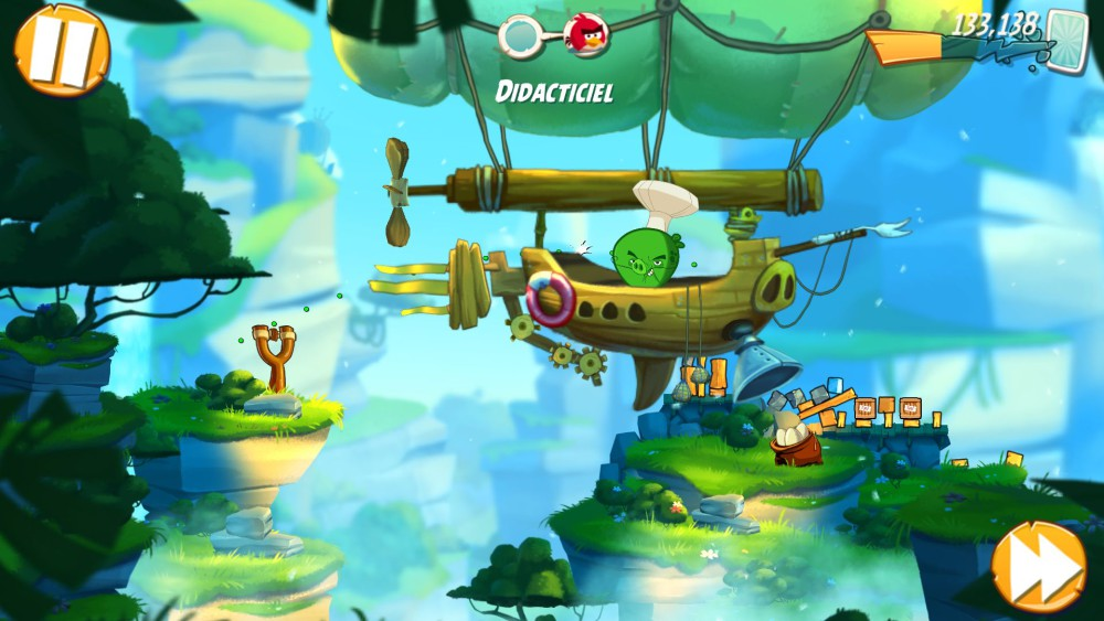 angry birds 2 graphismes