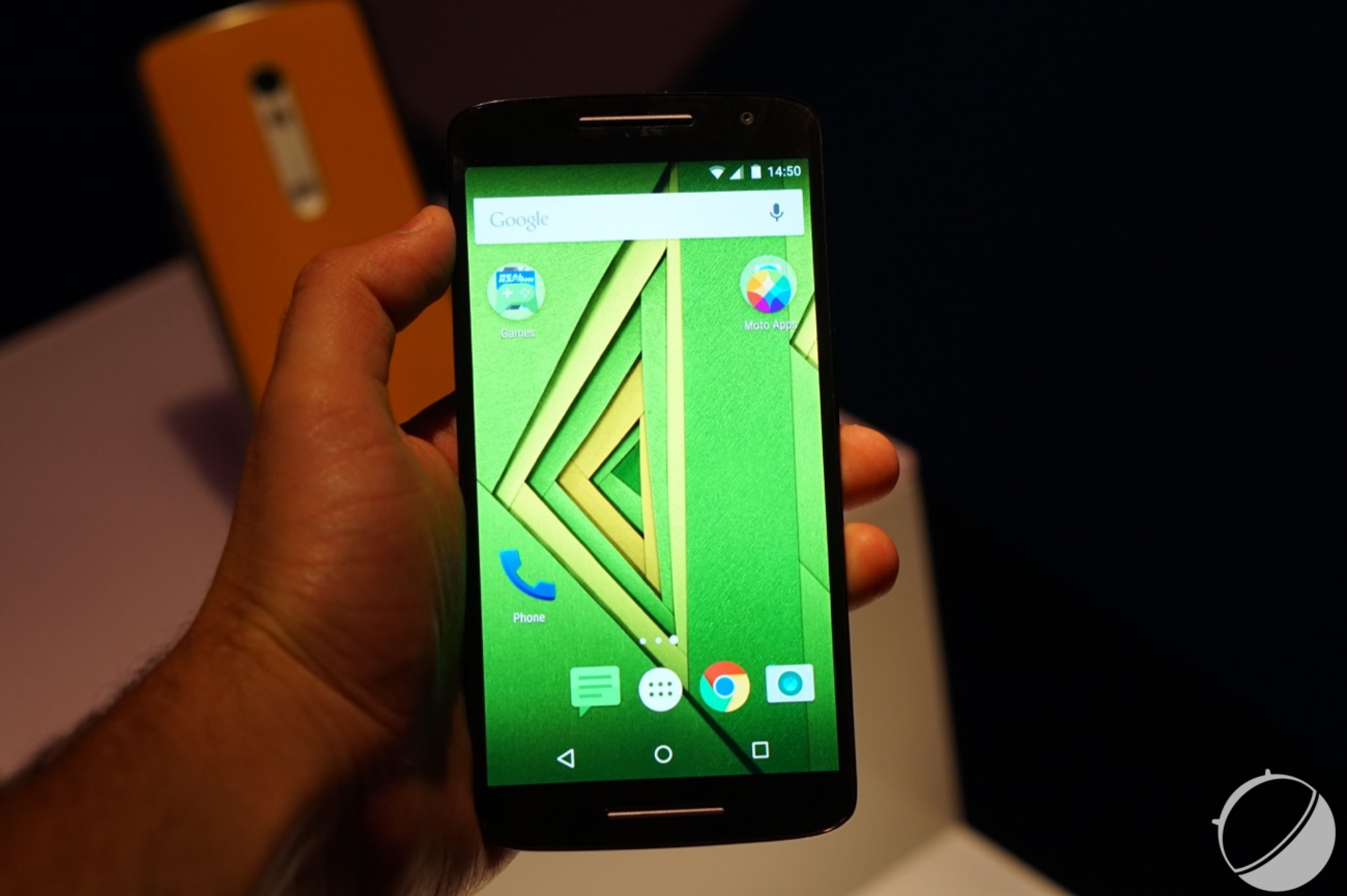 how to back up moto x play