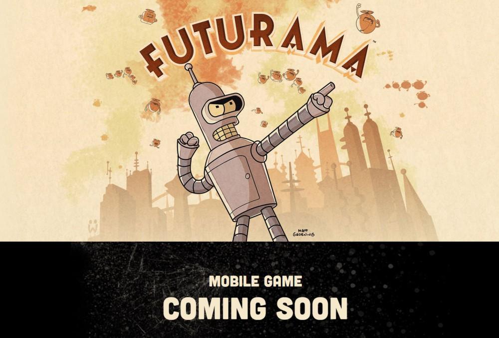 futurama jeu mobile android