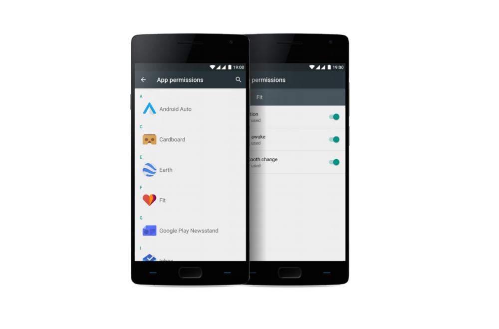 oneplus 2 oxygen os app permissions