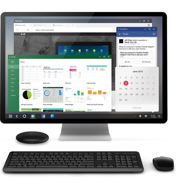 , Remix Mini, un ordinateur Android à  ?