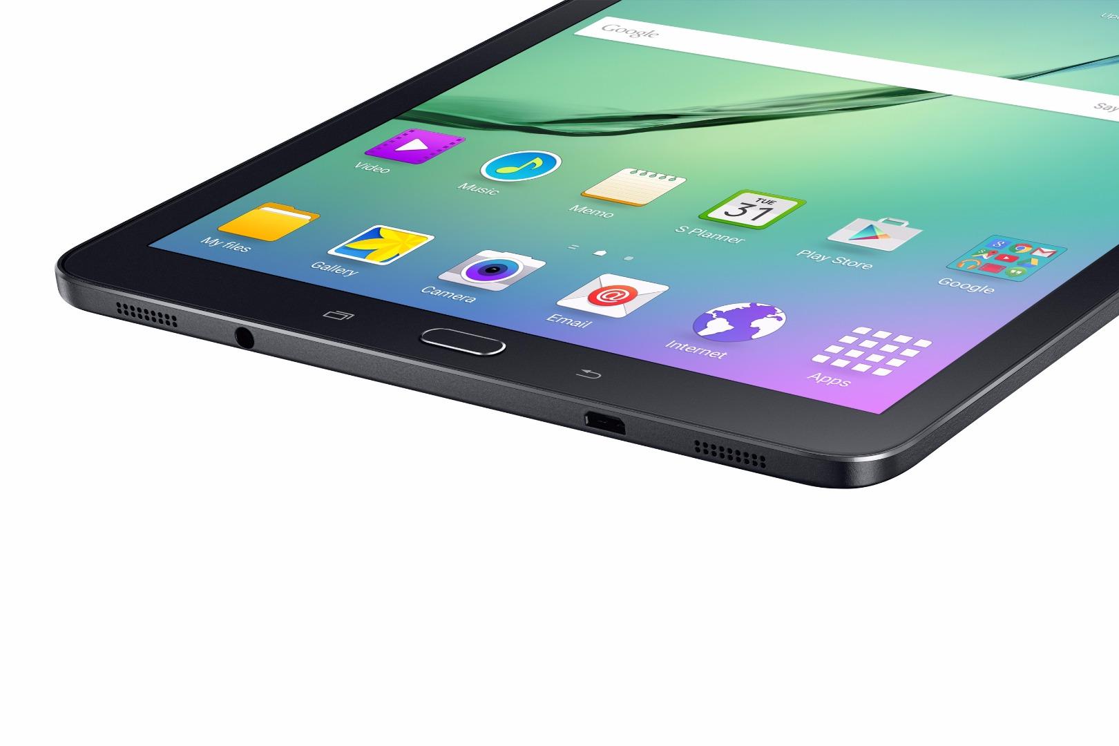 Samsung d voile officiellement les galaxy tab s2 8 0 et 9 for Housse tab s2 8