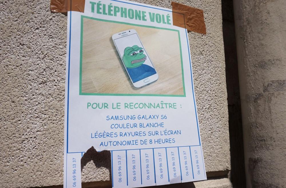 telephone vole galaxy s6