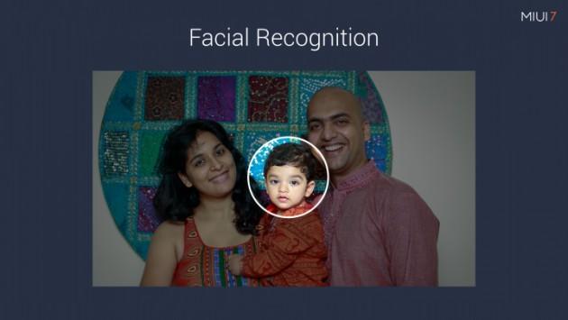MIUI 7 reconnaissance faciale