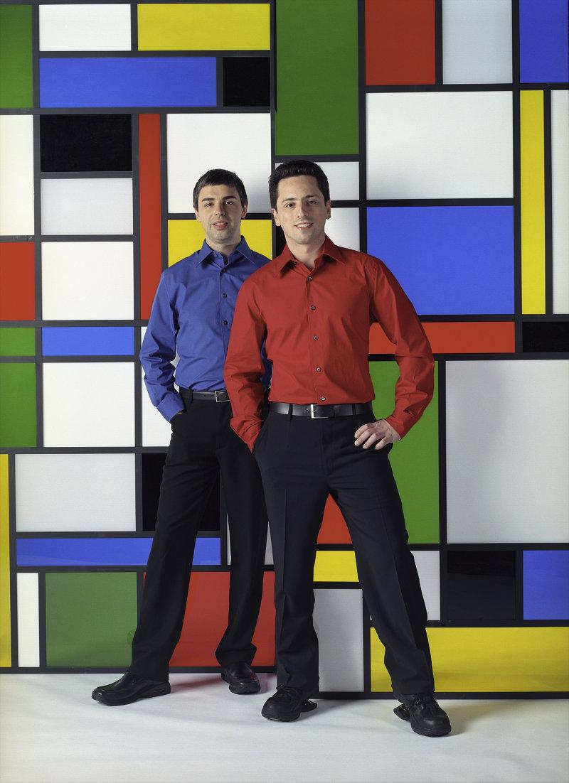 Larry Page et Sergey Brin