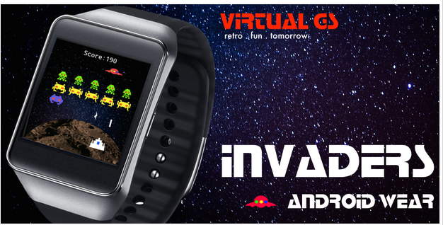 Invaders android wear