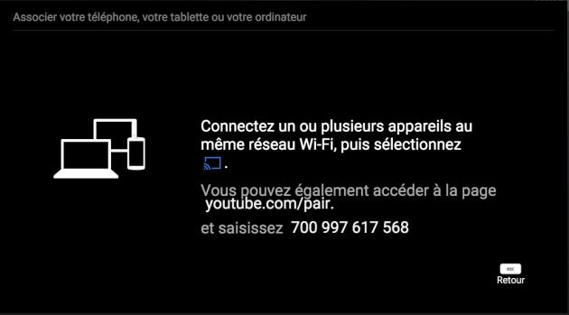 Association YouTube TV