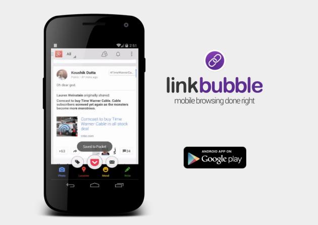 Link Bubbles