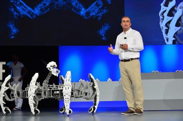 Intel robot Edison