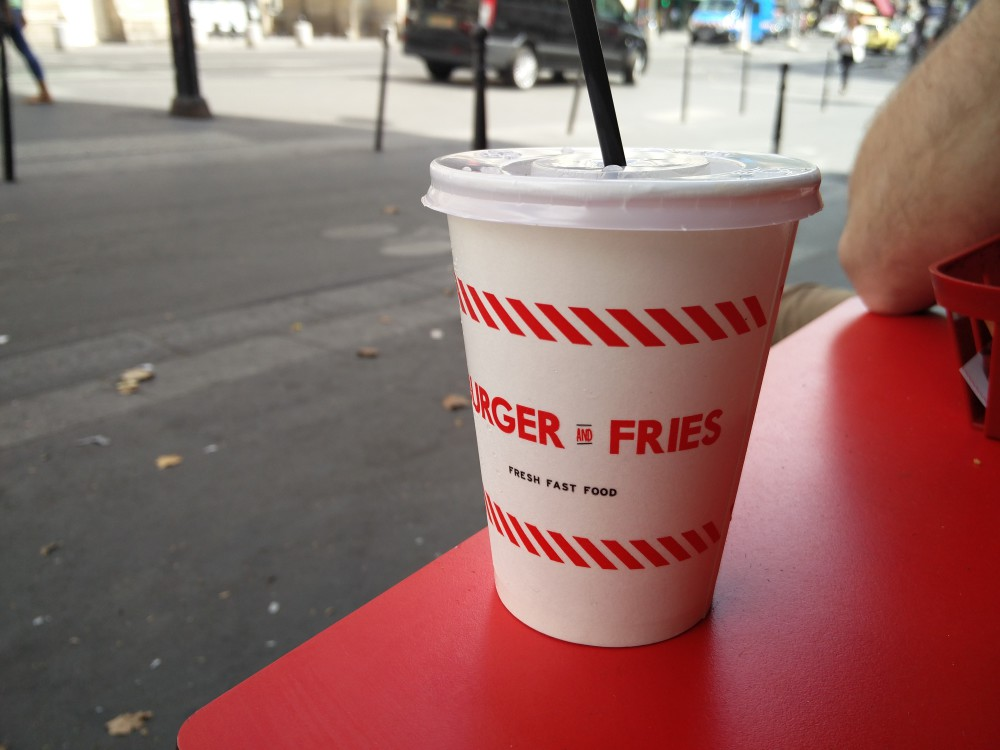 OnePlus 2 burger fries