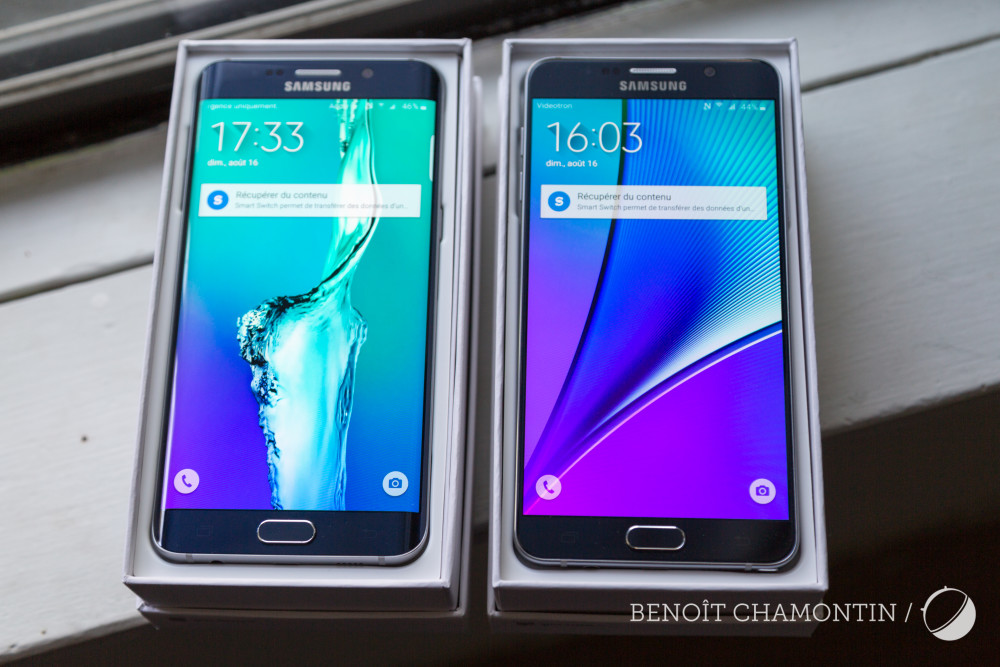 Samsung Galaxy Note 5 - Prise en main Geeks and Com Frandroid-1