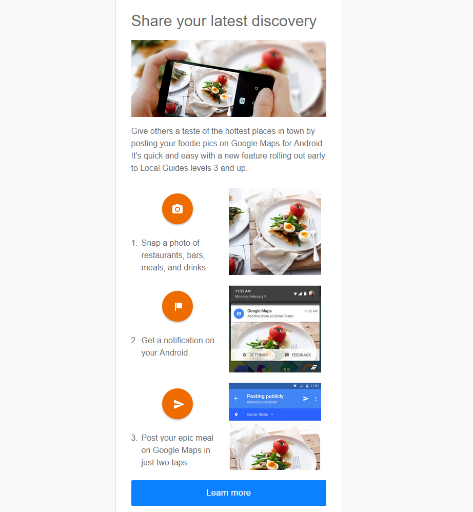 google maps foodgraphe