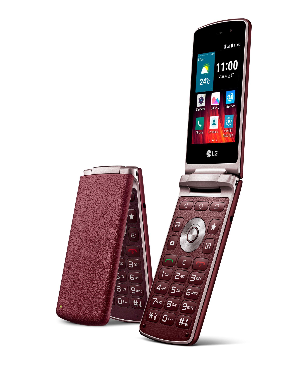 Lg Wine Smart Lg Veut Relancer La Mode Du Téléphone à