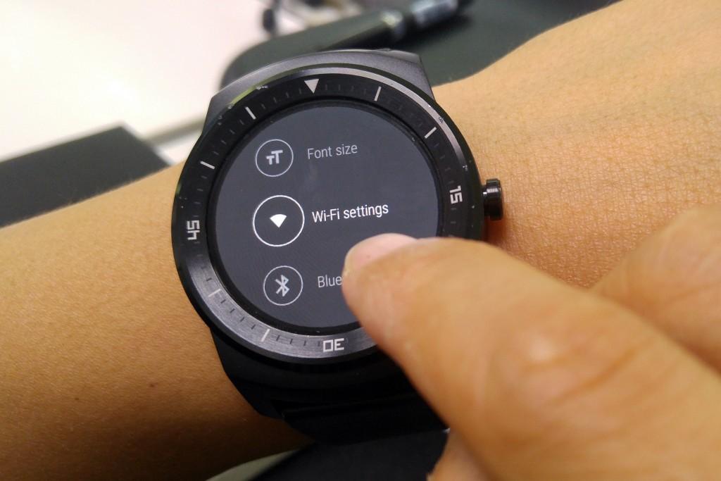 La LG G Watch R désormais compatible WiFi grâce à sa ...