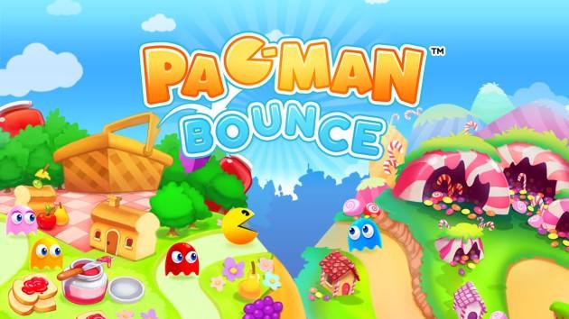 Pac Man bounce