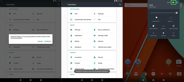 android 6 0 marshmallow les nouveaut s de la developer preview 3 frandroid. Black Bedroom Furniture Sets. Home Design Ideas
