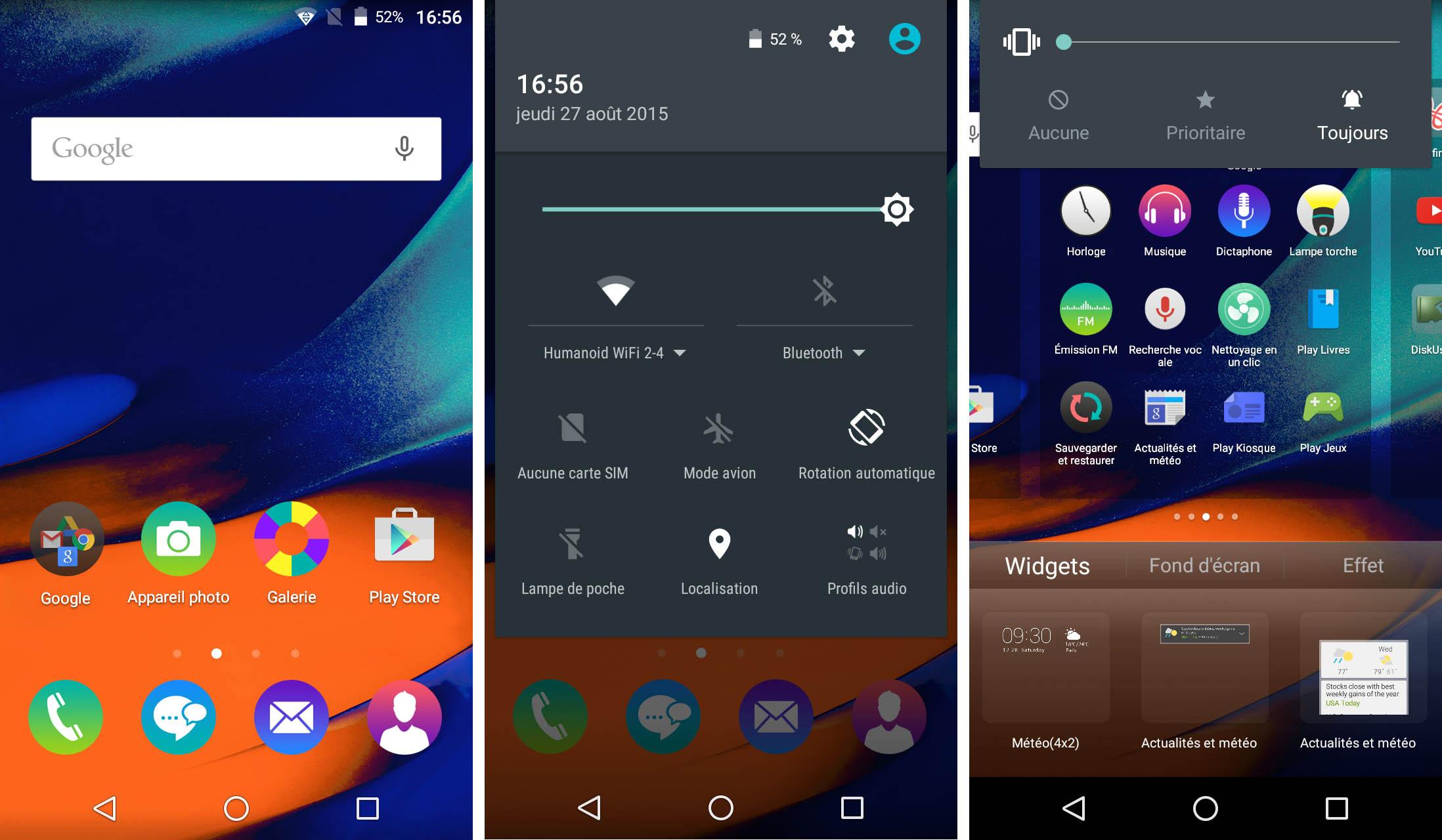 Test wiko rainbow up 4g notre avis complet smartphones for Screenshot ecran