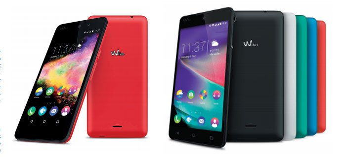 Wiko Rainbow Lite et UP