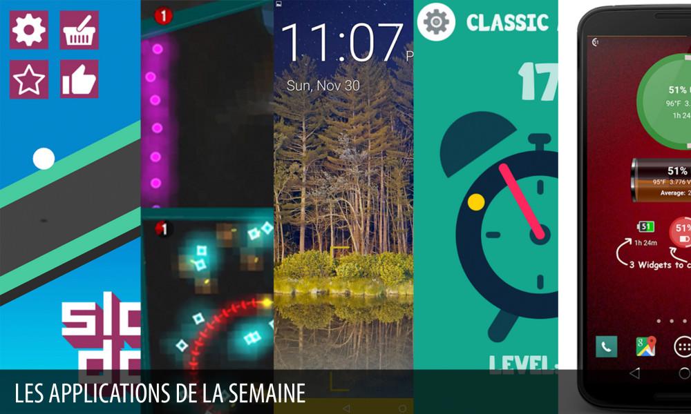 App de la semaine 27 appXoid