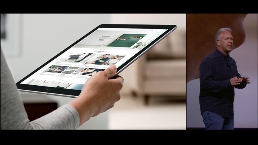 l 39 apple ipad pro est officiel et n 39 est pas sans. Black Bedroom Furniture Sets. Home Design Ideas