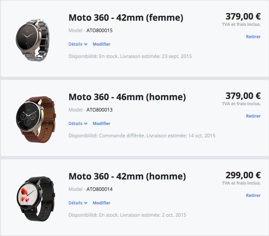 Moto 360 2e gen