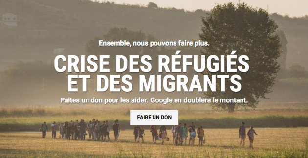 Google dons migrants