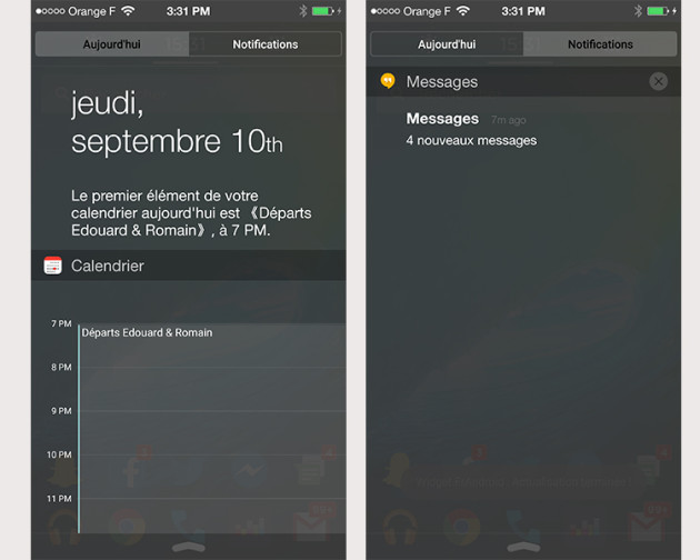 NotificationiPhone