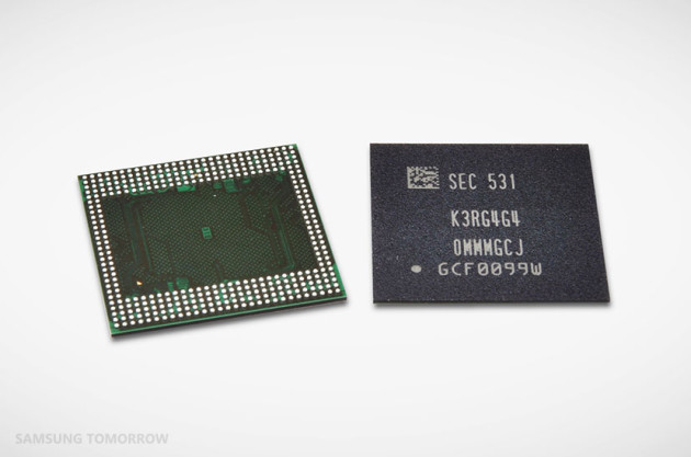 Samsung LPDDR4 12
