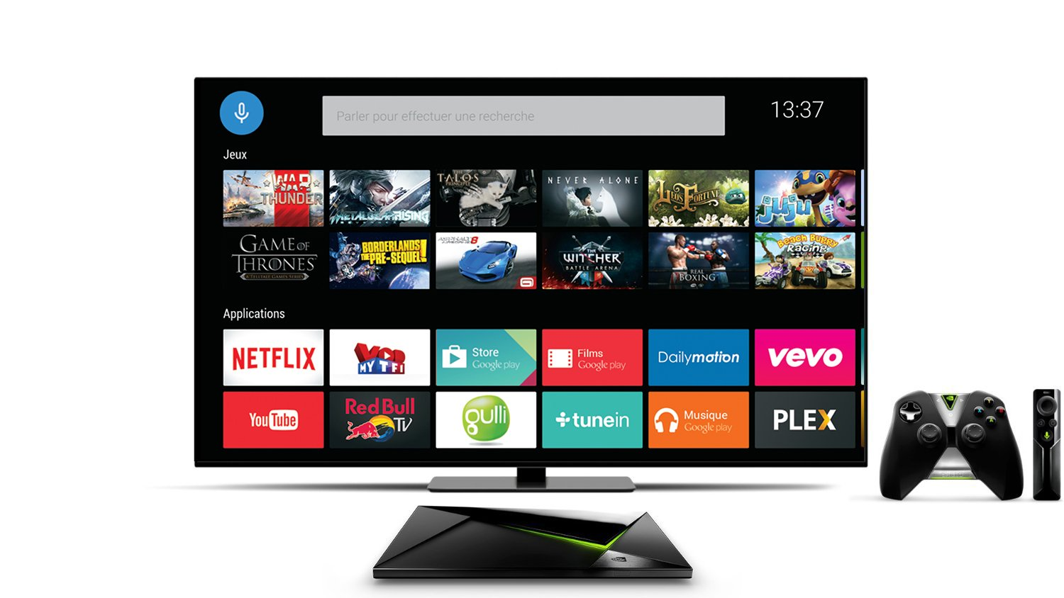 Shield Android TV europe france