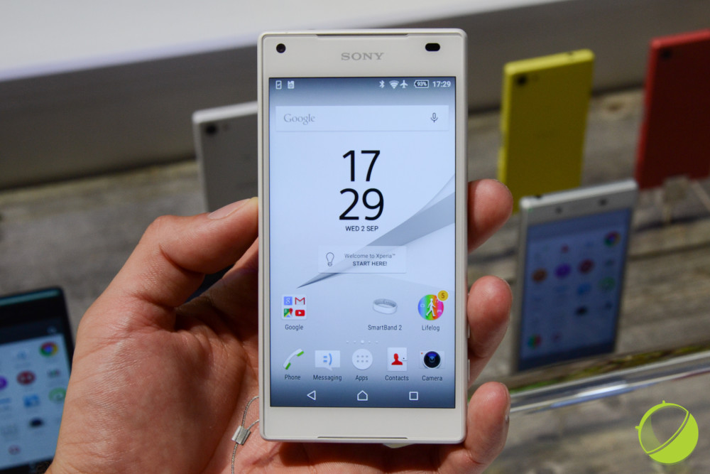 Sony Xperia Z5 Compact (1 sur 13)