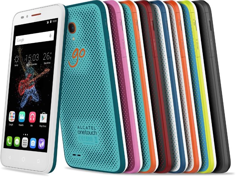 Alcatel OneTouch Go Play : un smartphone d'entrée de gamme waterproof et résistant aux chocs