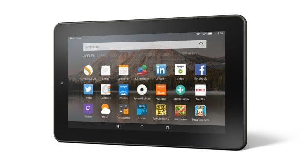 amazon officialise sa tablette fire 60 euros frandroid. Black Bedroom Furniture Sets. Home Design Ideas